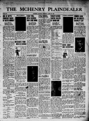 McHenry Plaindealer (McHenry, IL), 26 Apr 1945