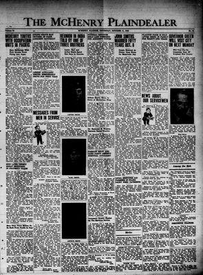 McHenry Plaindealer (McHenry, IL), 11 Oct 1945