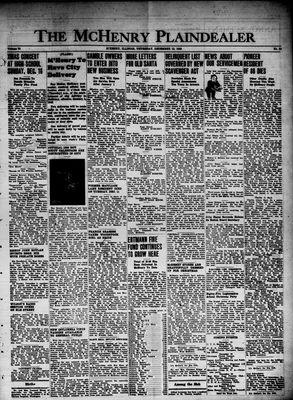 McHenry Plaindealer (McHenry, IL), 13 Dec 1945