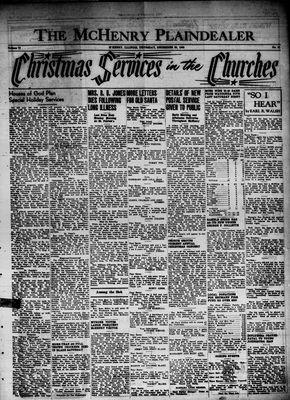 McHenry Plaindealer (McHenry, IL), 20 Dec 1945