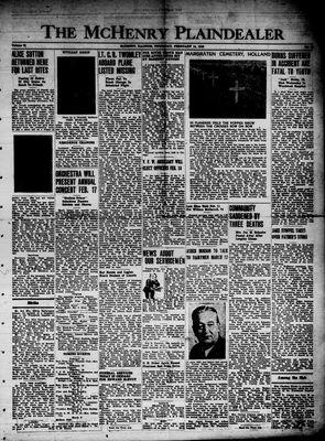 McHenry Plaindealer (McHenry, IL), 14 Feb 1946