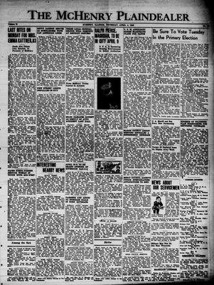 McHenry Plaindealer (McHenry, IL), 4 Apr 1946