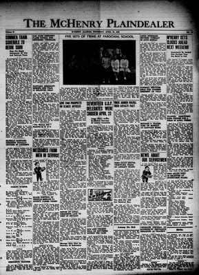 McHenry Plaindealer (McHenry, IL), 25 Apr 1946