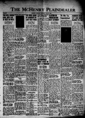 McHenry Plaindealer (McHenry, IL), 25 Jul 1946