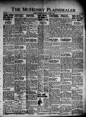 McHenry Plaindealer (McHenry, IL), 8 Aug 1946