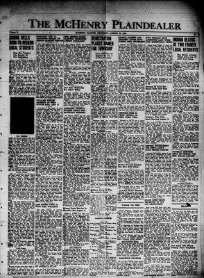 McHenry Plaindealer (McHenry, IL), 22 Aug 1946