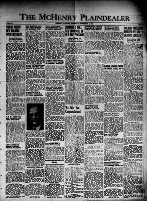 McHenry Plaindealer (McHenry, IL), 5 Sep 1946