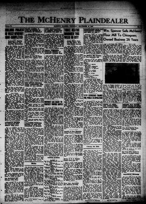 McHenry Plaindealer (McHenry, IL), 12 Sep 1946