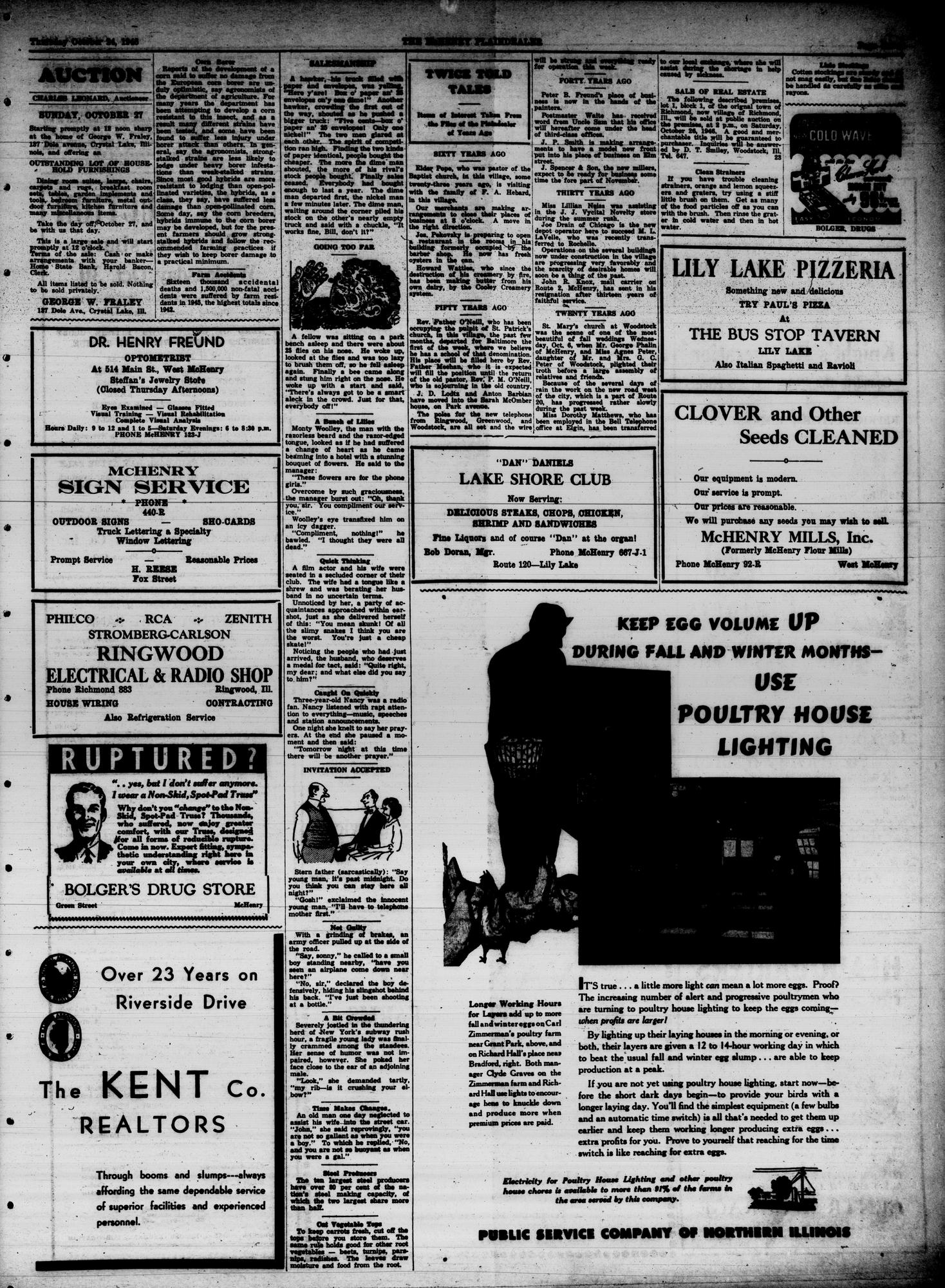 McHenry Plaindealer (McHenry, IL), 24 Oct 1946