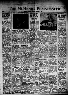 McHenry Plaindealer (McHenry, IL), 31 Oct 1946