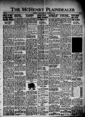 McHenry Plaindealer (McHenry, IL), 14 Nov 1946