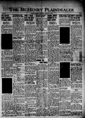 McHenry Plaindealer (McHenry, IL), 13 Feb 1947