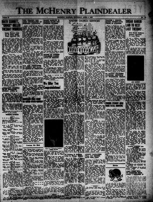 McHenry Plaindealer (McHenry, IL), 3 Apr 1947