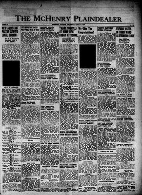 McHenry Plaindealer (McHenry, IL), 17 Apr 1947