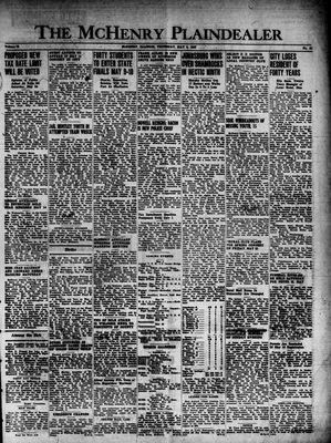 McHenry Plaindealer (McHenry, IL), 8 May 1947
