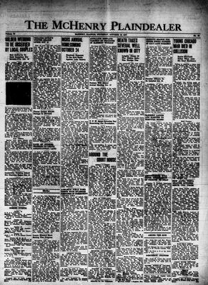 McHenry Plaindealer (McHenry, IL), 16 Oct 1947