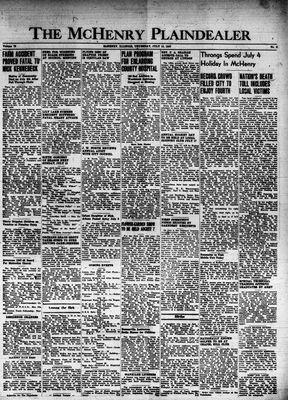 McHenry Plaindealer (McHenry, IL), 10 Jul 1947