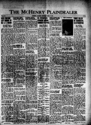 McHenry Plaindealer (McHenry, IL), 17 Jul 1947