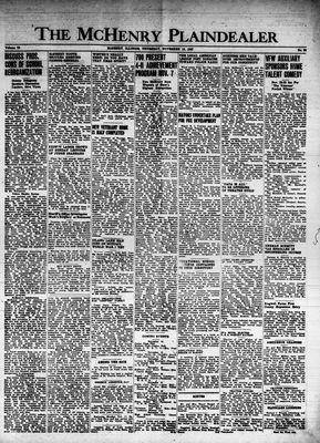 McHenry Plaindealer (McHenry, IL), 13 Nov 1947
