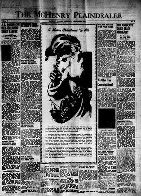 McHenry Plaindealer (McHenry, IL), 25 Dec 1947