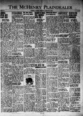 McHenry Plaindealer (McHenry, IL), 22 Jan 1948