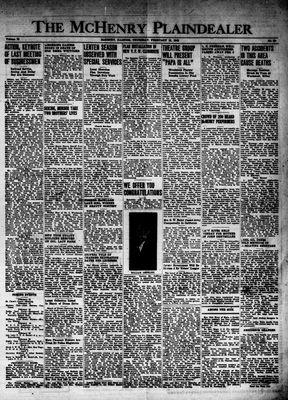 McHenry Plaindealer (McHenry, IL), 12 Feb 1948