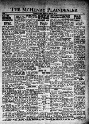 McHenry Plaindealer (McHenry, IL), 19 Feb 1948