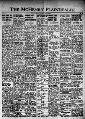 McHenry Plaindealer (McHenry, IL), 1 Apr 1948