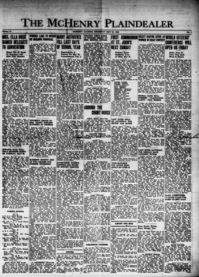 McHenry Plaindealer (McHenry, IL), 20 May 1948