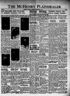 McHenry Plaindealer (McHenry, IL), 2 Sep 1948
