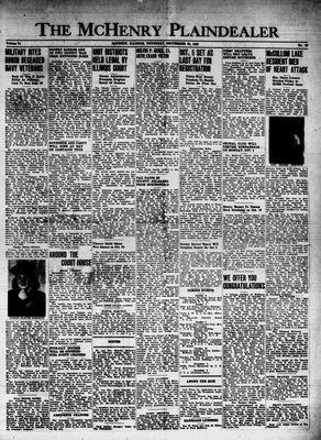 McHenry Plaindealer (McHenry, IL), 30 Sep 1948