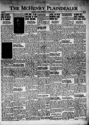 McHenry Plaindealer (McHenry, IL), 18 Nov 1948