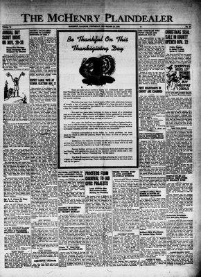 McHenry Plaindealer (McHenry, IL), 25 Nov 1948