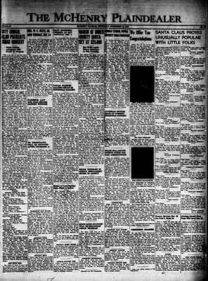 McHenry Plaindealer (McHenry, IL), 16 Dec 1948