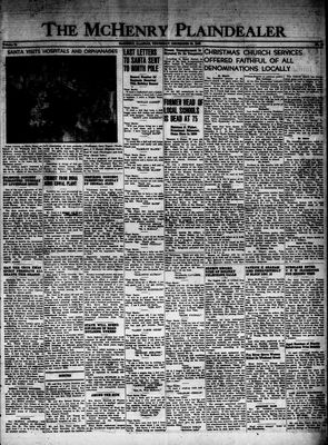 McHenry Plaindealer (McHenry, IL), 23 Dec 1948