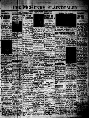 McHenry Plaindealer (McHenry, IL), 13 Jan 1949