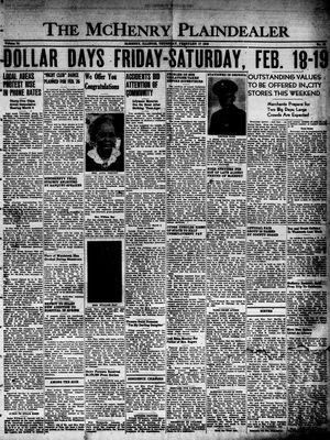 McHenry Plaindealer (McHenry, IL), 17 Feb 1949