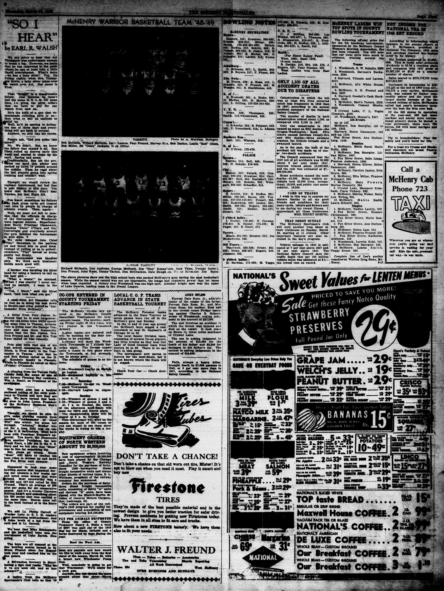 McHenry Plaindealer (McHenry, IL), 10 Mar 1949