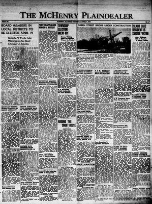 McHenry Plaindealer (McHenry, IL), 7 Apr 1949