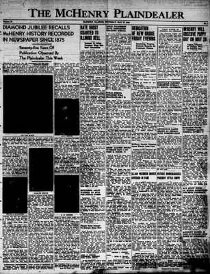 McHenry Plaindealer (McHenry, IL), 19 May 1949