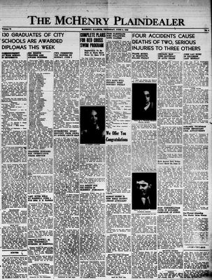 McHenry Plaindealer (McHenry, IL), 9 Jun 1949