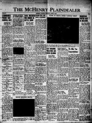 McHenry Plaindealer (McHenry, IL), 16 Jun 1949