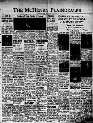 McHenry Plaindealer (McHenry, IL), 14 Jul 1949