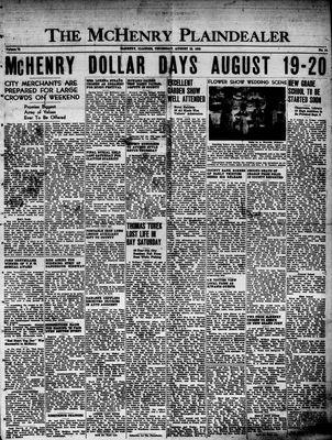 McHenry Plaindealer (McHenry, IL), 18 Aug 1949