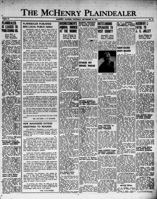 McHenry Plaindealer (McHenry, IL), 22 Sep 1949