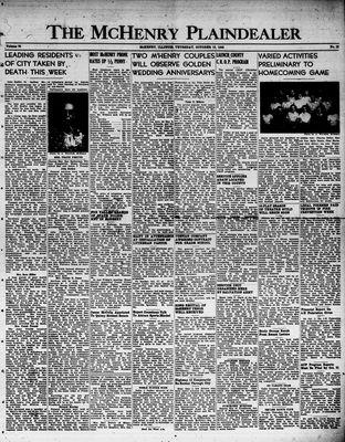 McHenry Plaindealer (McHenry, IL), 13 Oct 1949