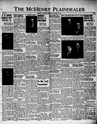 McHenry Plaindealer (McHenry, IL), 20 Oct 1949
