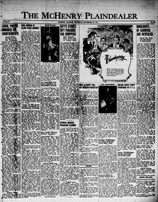 McHenry Plaindealer (McHenry, IL), 24 Nov 1949