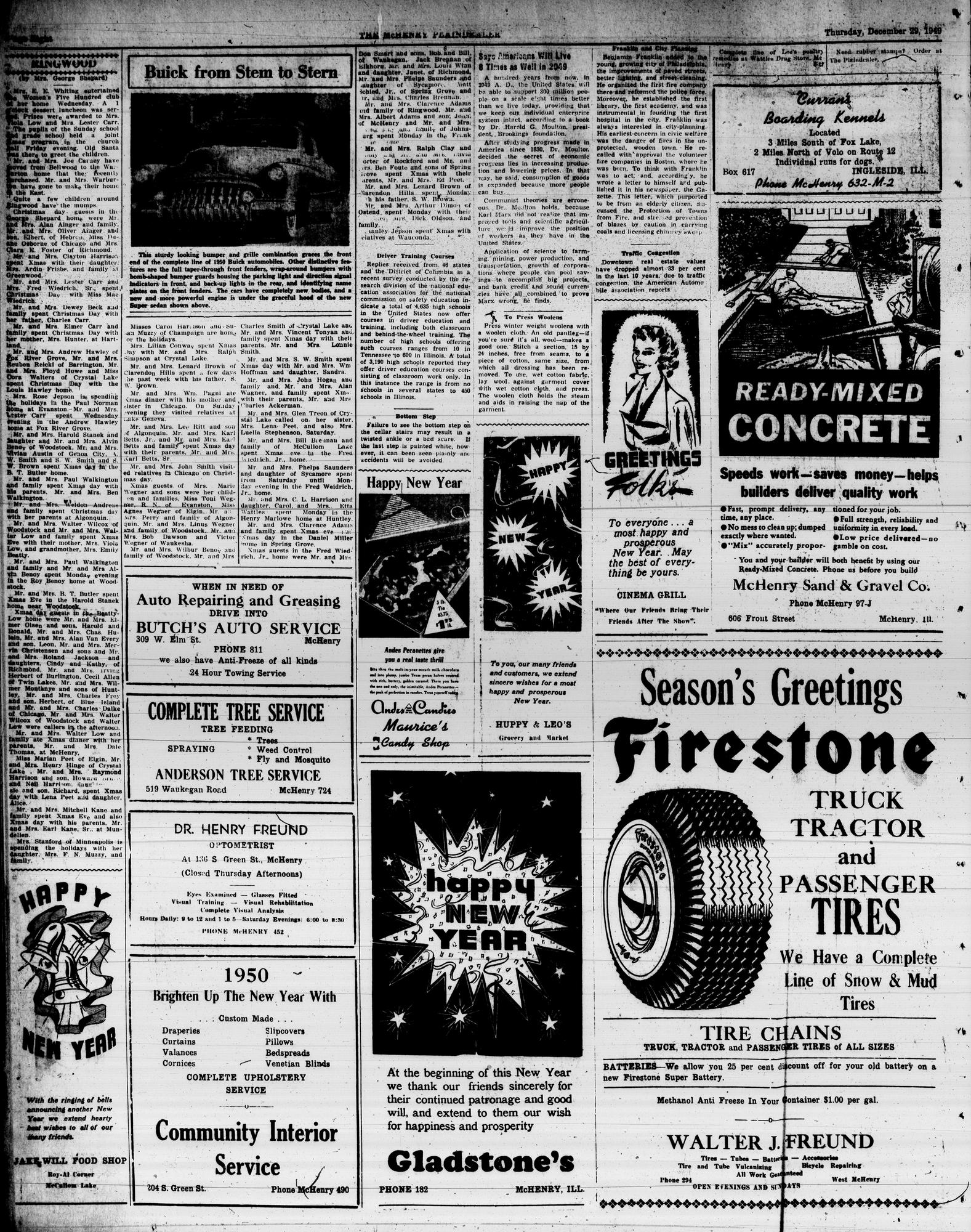 McHenry Plaindealer (McHenry, IL), 29 Dec 1949