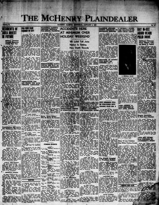 McHenry Plaindealer (McHenry, IL), 5 Jan 1950